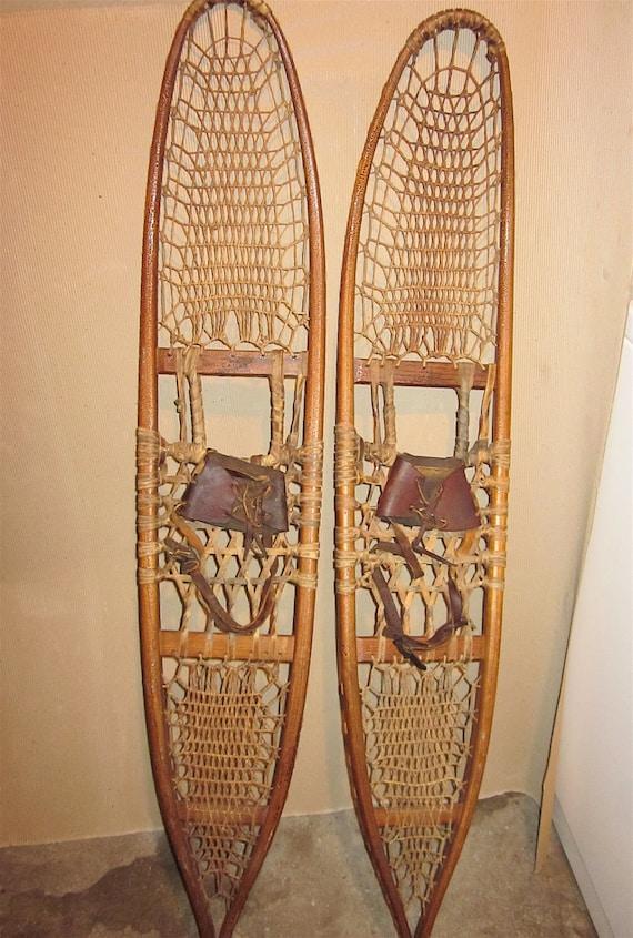 SUMMER SALE  - 1943 C.A. Lund Snowshoes