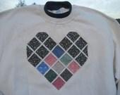 Heart Sweatshirt - X large - to benefit Heartline Ministries, Port Au Prince, Haiti