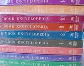 vintage (incomplete set)  GOLDEN BOOK ENCYCLOPEDIAS (14 of 16 volumes)