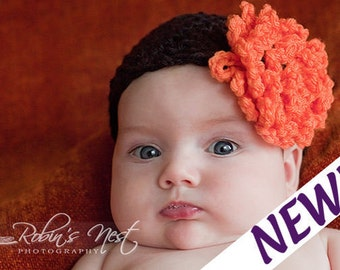 Easy Crochet Pattern for Basic Beanie Cap Hat  -  Size Newborn, Toddler, Child to Adult. ((This is a pattern NOT a hat))