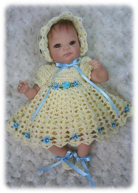 Items Similar To 7 Crochet Patterns For Baby Dolls Full
