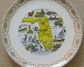 Vintage FLorida Plate