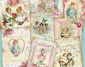MY LOVE Collage Digital Images -printable download file-