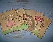 Little Tea Party storytelling card set
