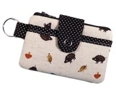 INVENTORY SALE ** Wild Boar Toss  - The PORTA-Pouch (Wallet with Keyring)