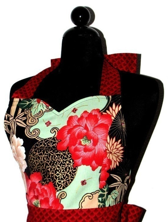 The JESSIE Vintage Inspired Orient Express Hostess Full Apron