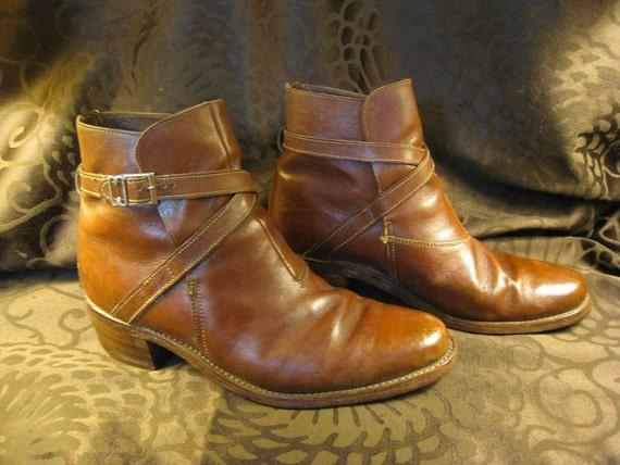 Vintage Men's Florsheim Leather Boots