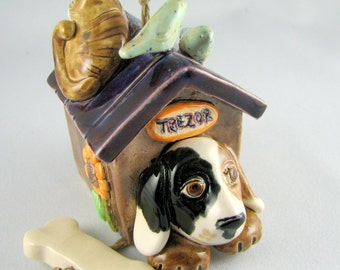 My Treasuries ceramic bell Made to order