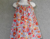 Calypso Paisley Sundress- Ready to ship in 12m, 2T, and 3T