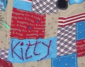 Raggedy Ann and Andy Cat Dog Pet Kitty Kitten Cat Mat Quilt