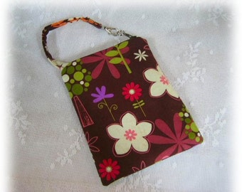 Gadget Case Pouch Ipod Cell Phone Camera Peace on Earth Fabric