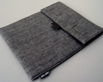 iPad Air Case, iPad Pro Case, iPad Cover, Tablet Case. Padded/Dark grey