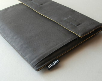 iPad Case, iPad2 Case, HP TouchPad Cover, Cotton/Padded, black. Made to Order