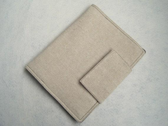 iPad Case, Book-style/Linen/Padded