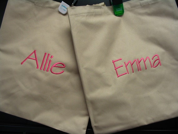 Personalized Tote Bag - reserved listing