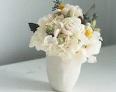 Blanca- dried flower arrangement