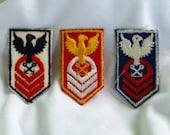 Destash - 3 pack of eagle appliques