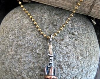 Possum Tooth Necklace