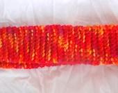 Knit Flame Headband