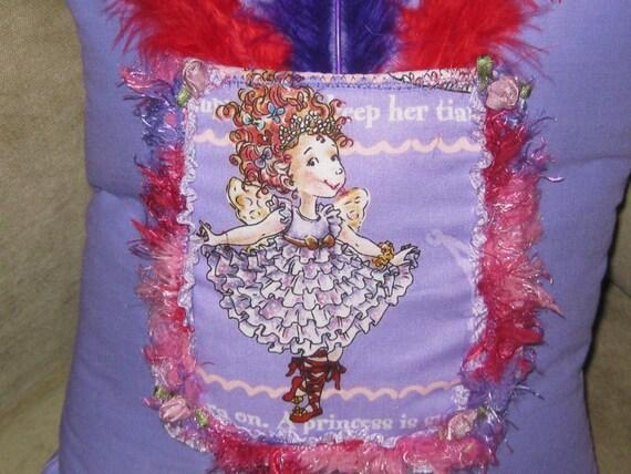 Fancy Nancy Tooth Fairy Pillow/ Fancy Pocket
