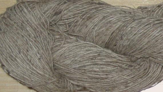 3.4 oz Organic Handspun Himalayan Nettle Yarn, 140 yards, Fair Trade, 95 grams