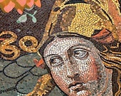 Athena - Mosaic and Flowers Cards (Set of 4)