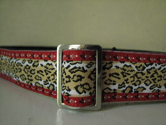 Red Cougar Ladies Belt
