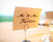 Calligraphy for Wedding Sweetheart Table Cards