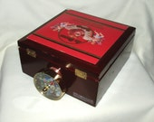 50% SALE   Kaleidoscope, Cigar Box, Image Wheel