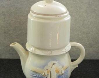 Vintage Porcelier China Coffee Server