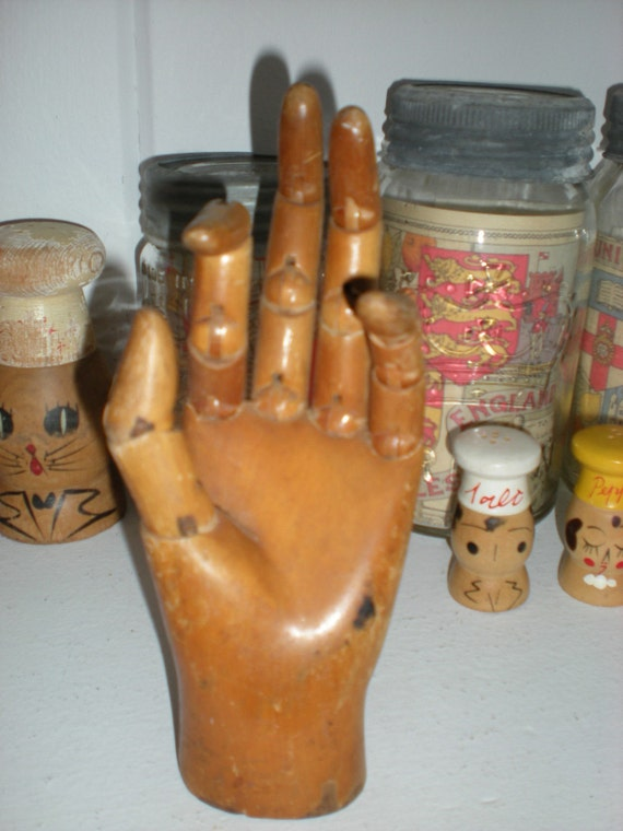 Wood Hand Mold from Belgium