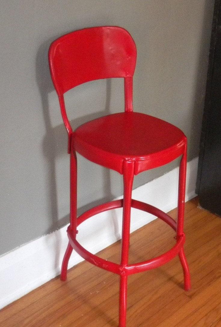 metal kitchen stool