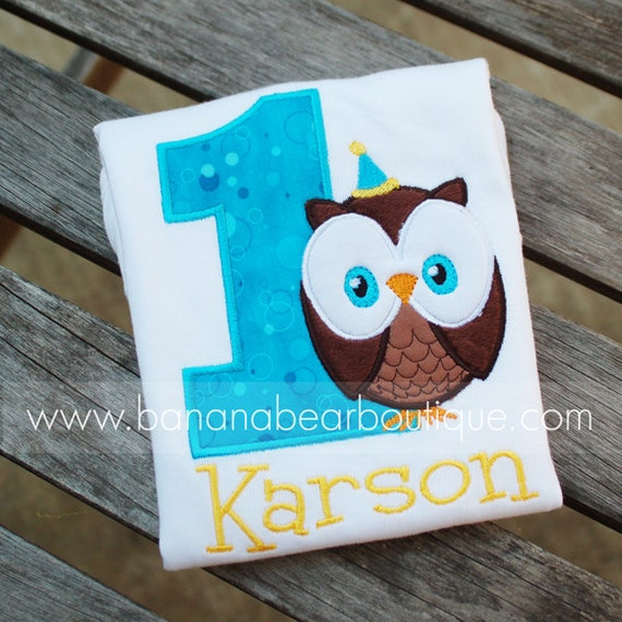 Whoo's Having a Birthday -  Owl Birthday Party Hat Shirt or Bodysuit