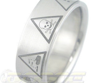 Dangerous Titanium Ring