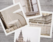 LET ME IN - 9 Fine Art Photographs of Paris in White