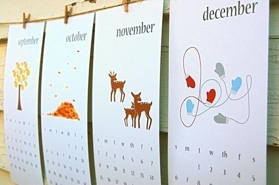 PRINTABLE 2009 Calendar - Print, Cut, Keep or Give
