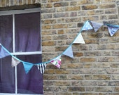 Cute Bunting Mixed Prints and patterns 2 metres