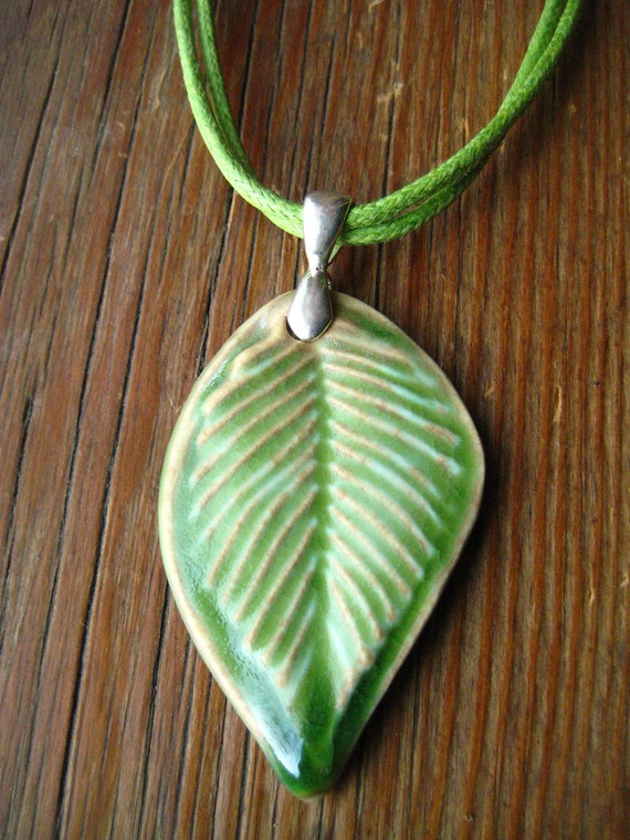 Lime Leaf  Pendant