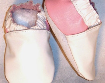 softsoul soft soled leather baby shoes handmade in Canada