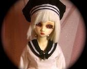99brokendolls Academy in WHITE for Msd Sized bjd dolls