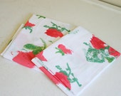 Vintage Pair of Vintage Halston Pillowcases