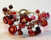 Garnet of delight bracelet