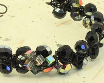 Bangle bracelet, Black Tie