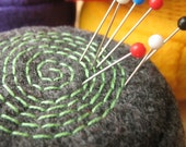 Pebble Pinwheel Pin Cushion