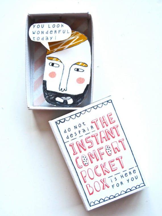 Instant Comfort Pocket Box - bearded bloke