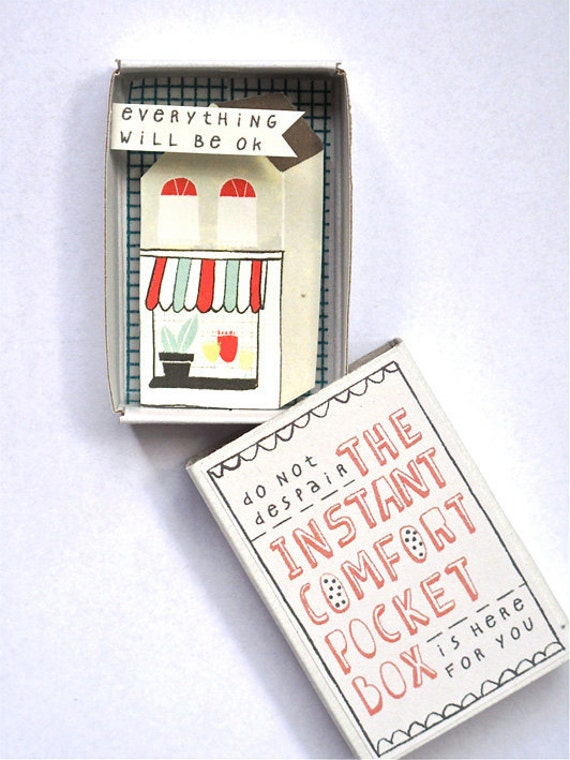 The Instant Comfort Pocket Box - little house