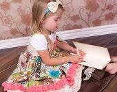Knot Dress Bookworm Girls Toddler Childrens Clothing