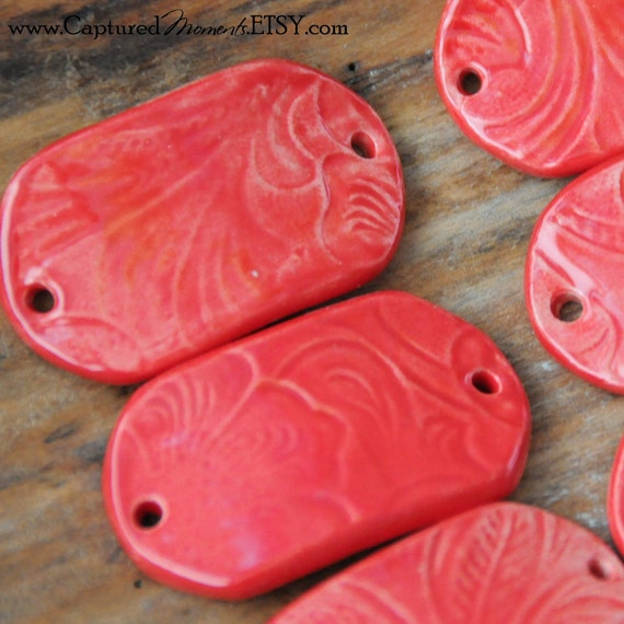 Tamale Red Bracelet Bead, The Carmine Bead