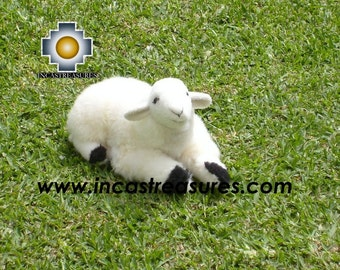 ALPACA STUFFED ANIMALS, Cute Little Sheep -Dolly- FREE SHIPPING