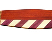 Striped Wood Baguette Board / Cutting Board